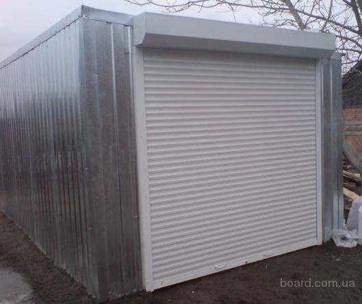 Продам металлический гараж в Ярославле.