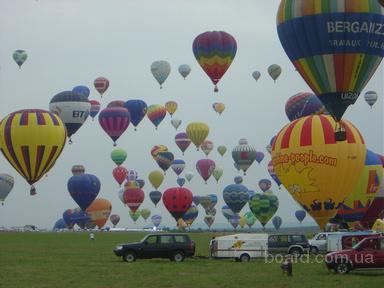 Подарить полет на воздушном шаре.