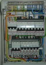 ...установке, замене устройство защитного отключения, автоматических выключателей, дифференциальных автоматов...