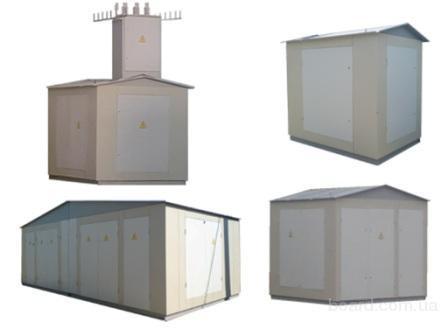 Комплектные трансформаторные подстанции киоскового типа КТП, КТПП, КТПН, КТПВУ ( проходные и тупиковые ) 2КТП...
