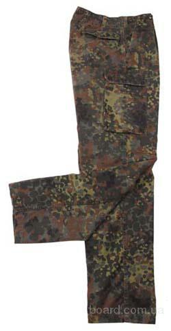 Полевые брюки бундесвер,оригинал, б/у.  Расцветка флектарн.