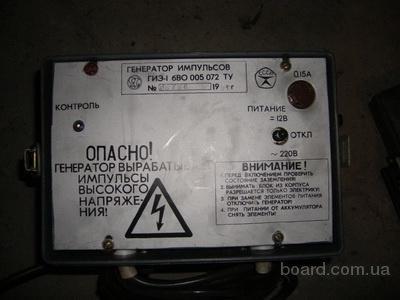Электроизгородь ГИЭ-1 для выпаса скота (электропас