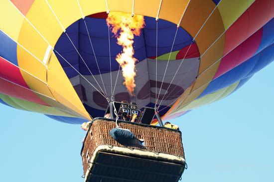 полет на воздушном шаре в выходные просто!!!