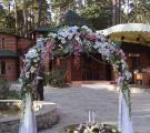 оформление свадьбы Киев, прокат текстиля, экибана на свадьбу, букет на свадьбу киев
