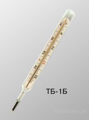 термометр медицинский стеклянный ртутный типа тб-1б - Ртутный термометр инструкция.