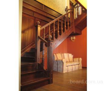 Деревянные лестницы высокого качества.