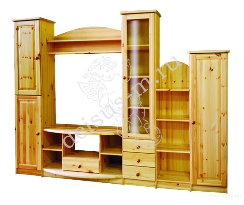 Деревянная мебель из массива сосны от производителя в Москве