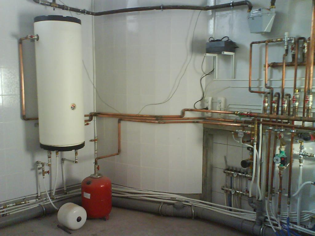 Жидкостная система отопления по виду циркуляции бывает принудительной, естественной (гравитационной) и...