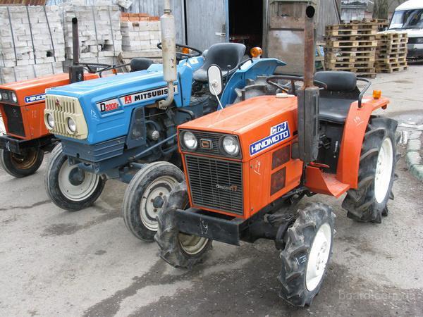 Продажа тракторов, мини-тракторов из Японии таких производителей как: Mitsubishi, Yanmar