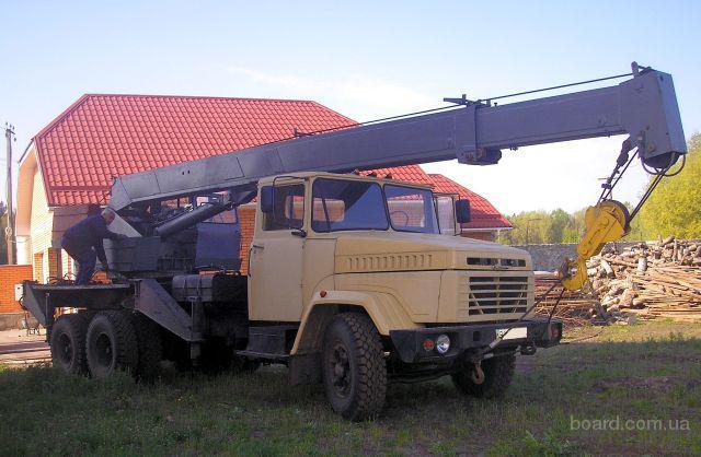 Автокран КС-3575 на базе КРАЗ-250 1993, после капремонта.  Вылет стрелы 15.5 м. грузоподъемность 10 т. Украина.