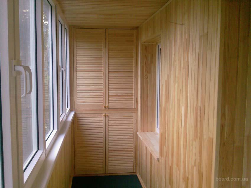 Обшивка балкона вагонкой своими руками фото