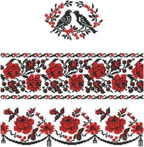 Рхема для вышивки крестом