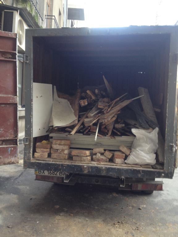 Вывоз строительного и бытового мусора в Киеве