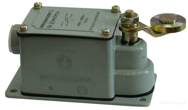 Выключатель концевой ВК-300-БР-11-67 с сальн IP67.  Выключатель нагрузки (мини-рубильник) ВН-32 3Р 63А...