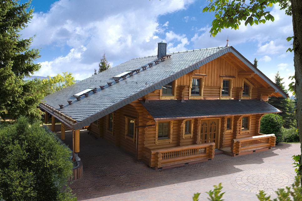 Строительство деревянных домов и коттеджей из сруба. Деревянный 1
