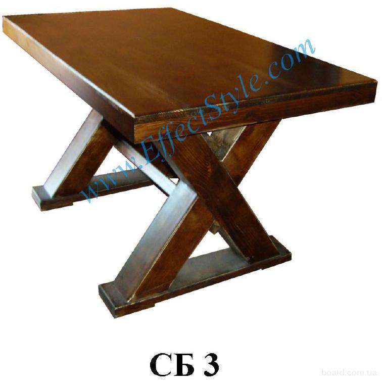 Мебель из дерева для баров, кафе, ресторанов.