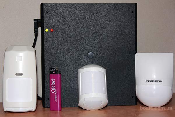 Охранная gsm сигнализация для бытового использования.