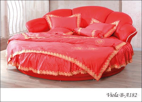 А это индивидуальная кровать для моего дедушки.