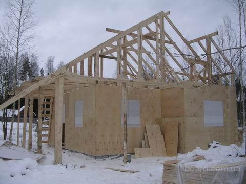Строительство загородного каркасного дома,коттеджа,дачи,с отделкой вагонкой,наружняя отделка сайдингом...