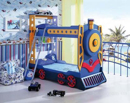 Продам детская кровать машина