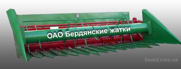 Приспособление для уборки подсолнечника ПС-4.