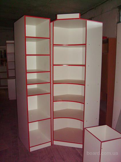Мебельная выставка: стеллажи из дсп на заказ в Санкт-Петербурге