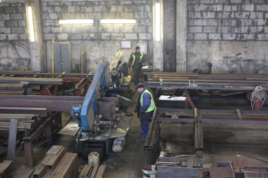Производство металлоконструкций в Москве