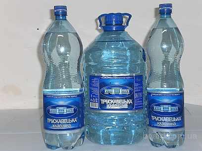 Миниральная вода трускавецкая