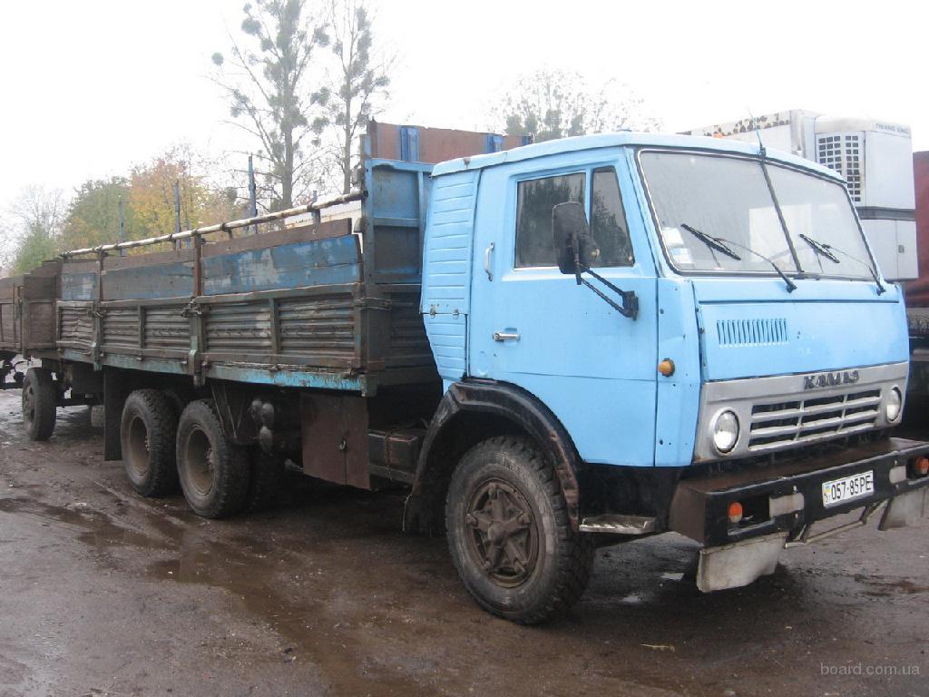 КАМАЗ 5320 вантажний бортовий.