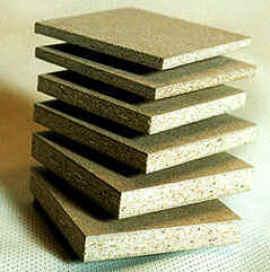 древесностружечная плита - листовой материал, изготовленный путём горячего прессования древесных частиц...