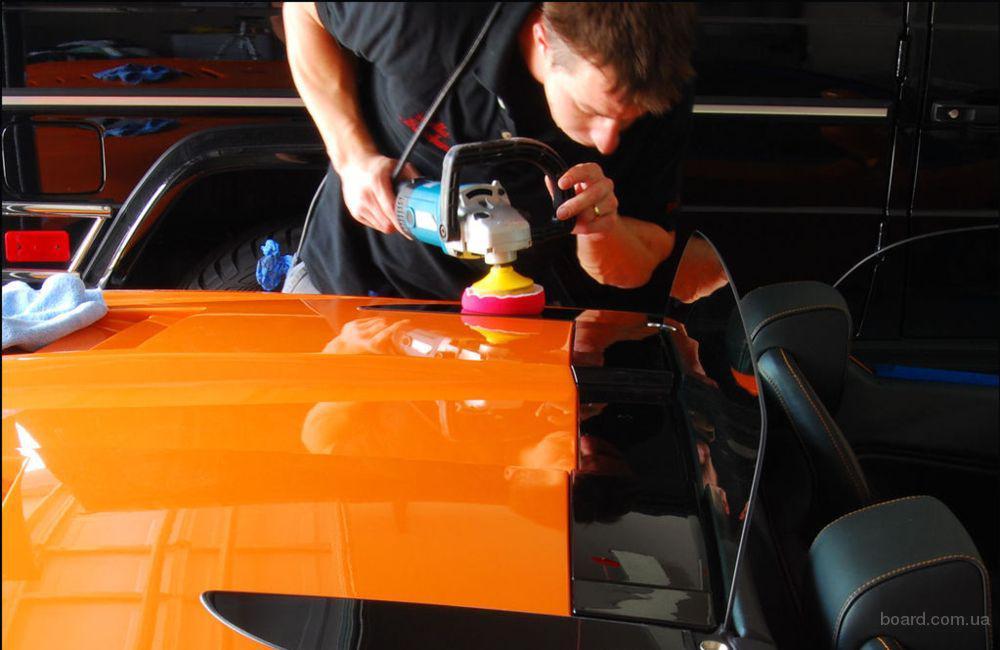Полировка лакокрасочного покрытия автомобиля