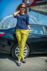 """Модные тенденции - женские брюки от производителя """"Bisou"""""""