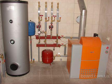 b Газовое отопление /b в частном доме.