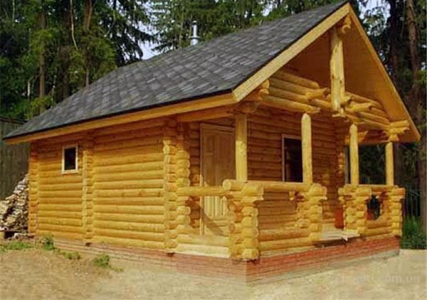 Деревянный дом, баня, беседка (сруб); Харьков