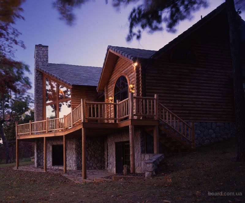 Деревянні будинки під ключ продам