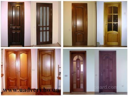 Двери филенчатые от ЧП Титенко.