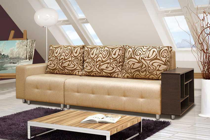Купить недорого диван в Екатеринбурге приглашает интернет-магазин «Мебелево-ЕКБ».