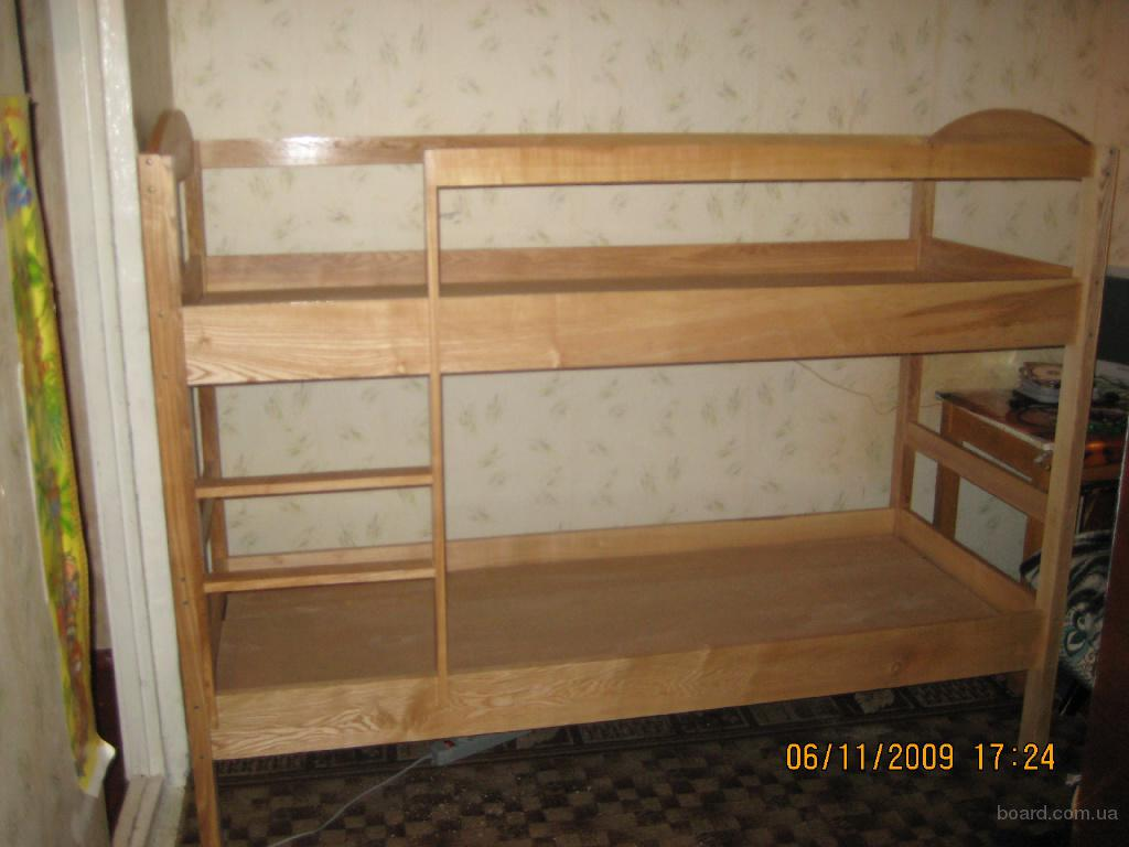 Двух ярусная детская кровать