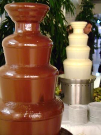 Шоколадный фонтан, лучшая свадебная услуга, аренда