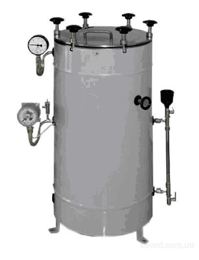Стерилизатор паровой ВК 30 автоклав за 17000 грн с вертикальной круглой камерой предназначен для стерилизации водяным...