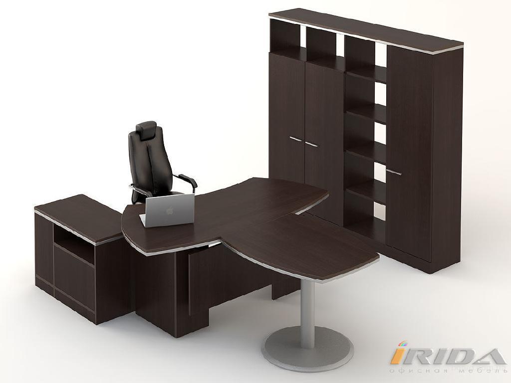 """Офисная мебель для персонала, кабинеты руководителей, офисные диваны в магазине """"Ирида"""""""