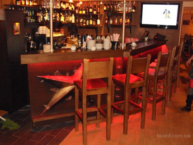 Мебель для баров,ресторанов,кафе на заказ