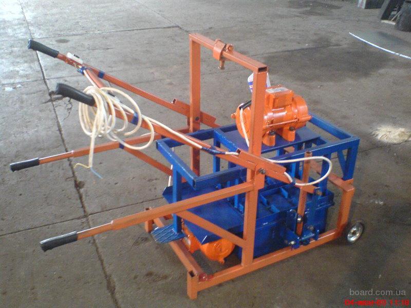 продам. оборудование и станки для производства шлакоблока.