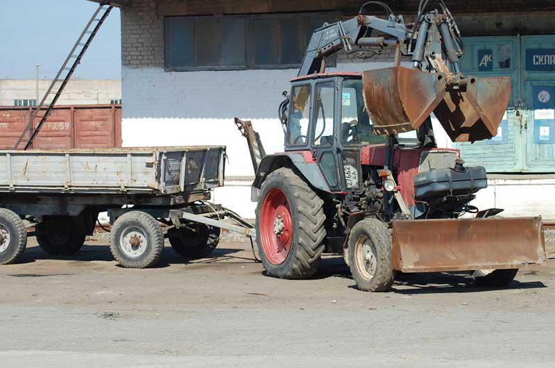 БЕЛАРУС-09Н: Минский тракторный завод