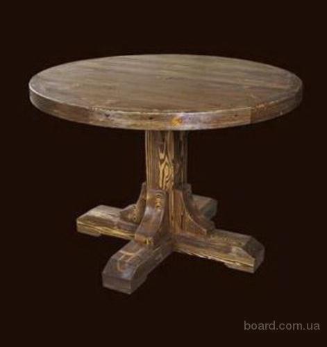 Круглый стол под старину своими руками 1068