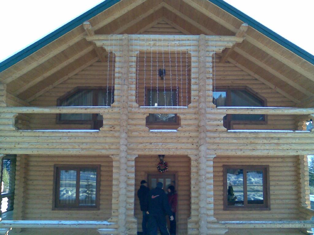 Будуєм деревяні будинки ціна від