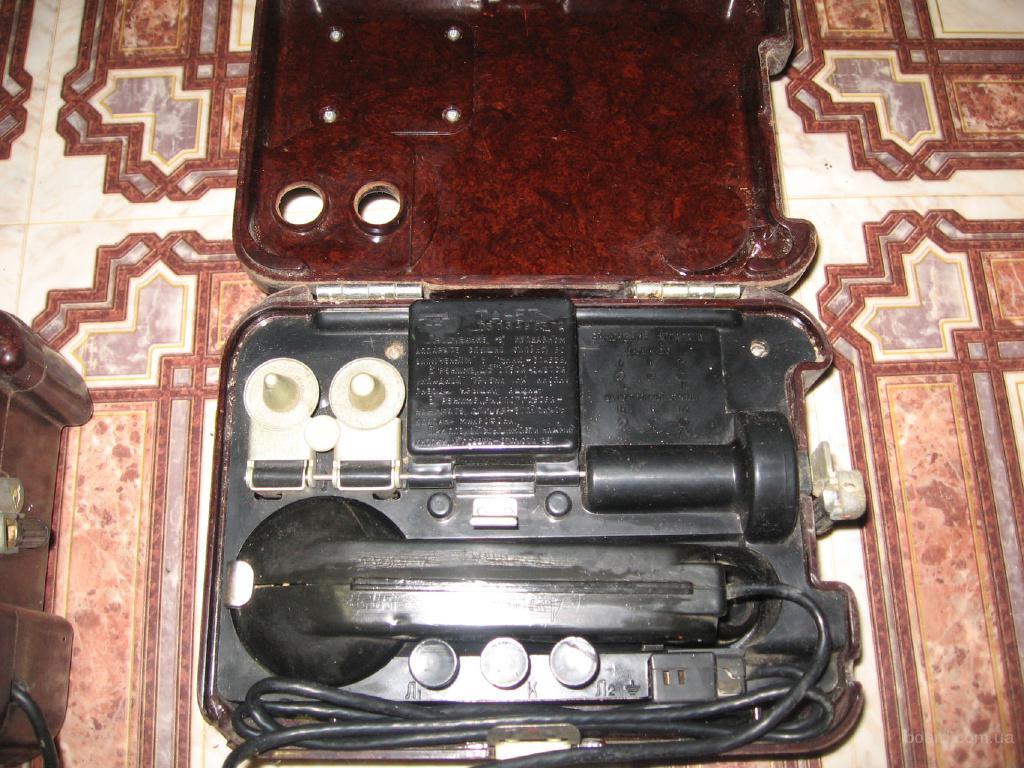 продам). советские полевые военные телефоны ТА 57.