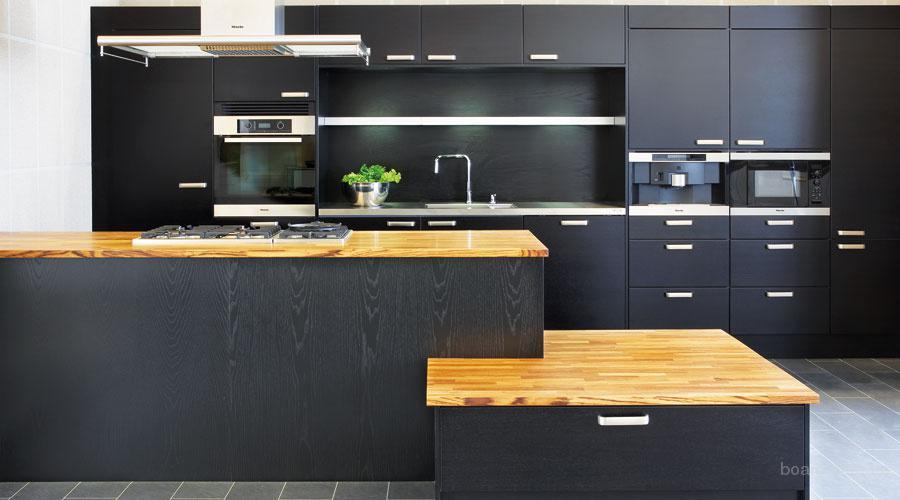 Черные кухни купить в москве