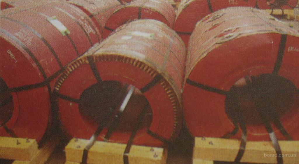Сталь оцинкованная с полимерным покрытием в рулона