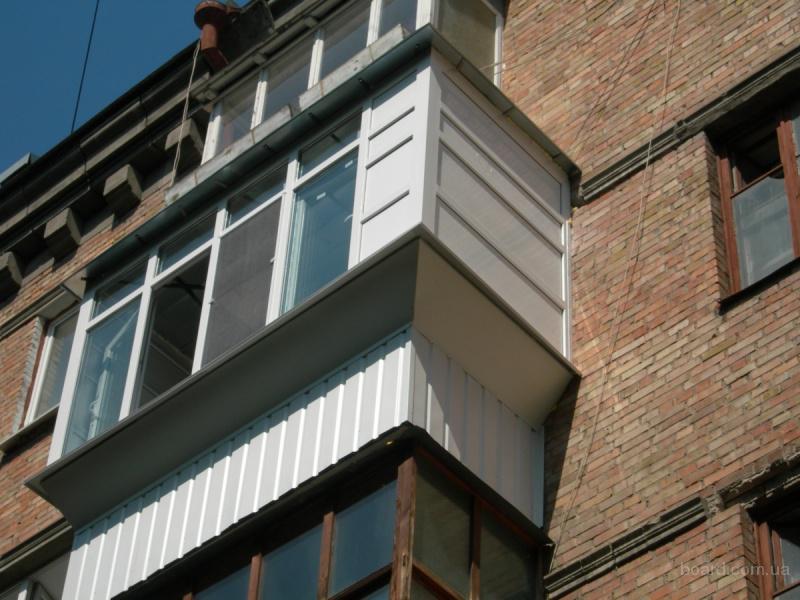Окна,балконы,с выносом,крышей rehau,almplast. продам в киев,.
